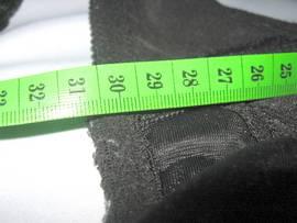 34F bra underwire length