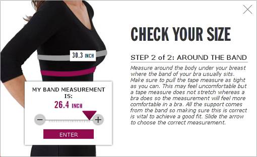 Underbust measurement